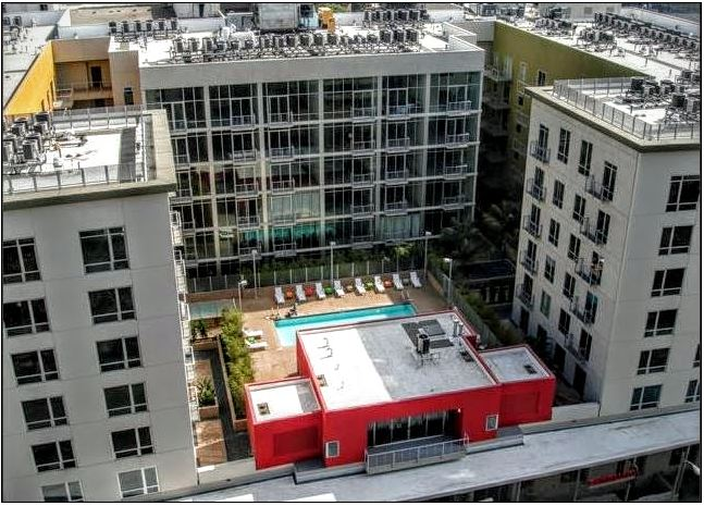 Downtown L.A. 1 bedroom Penthouse with pool