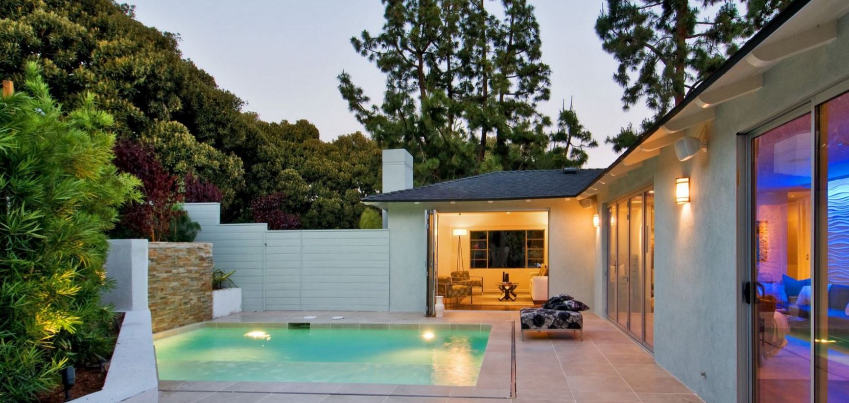 3 Bedroom Los Feliz Poolside Villa